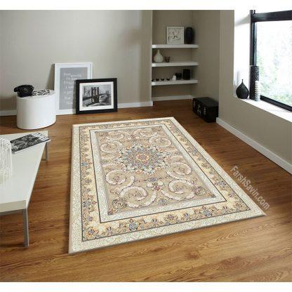 فرش ساوین 3001 فیلی کلاسیک اتاق پذیرایی
