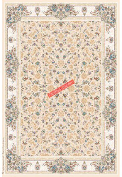 فرش 3120 کرم استخوانی کلاسیک پذیرایی
