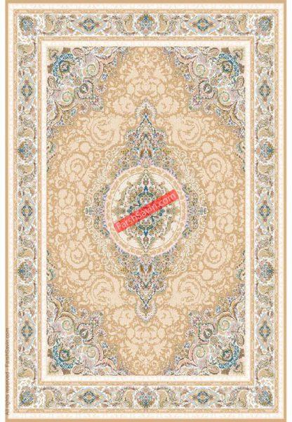 فرش ساوین 3121 بژ کلاسیک