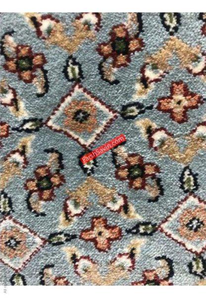 فرش ساوین 4500 زمینه آبی مدرن