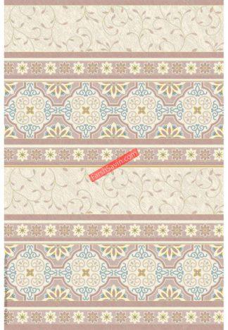 فرش ساوین 1502 آبی مدرن و فانتزی