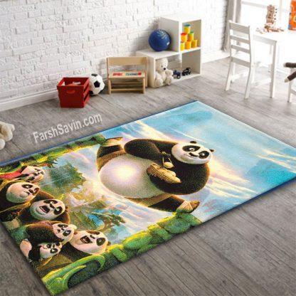 فرش ساوین 1365 پاندای کونگ فوکار اتاق کودک