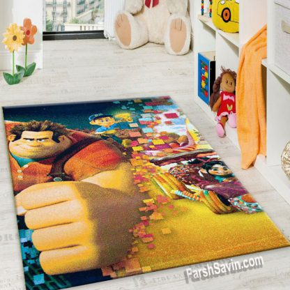 فرش ساوین 1366 رالف خرابکار اتاق کودک