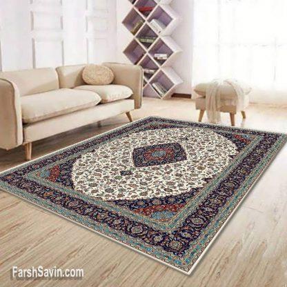 فرش ساوین 4510 کرم مدرن