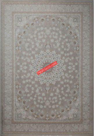 فرش ساوین آوین بژ اتاق پذیرایی