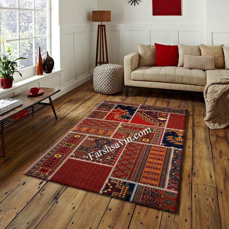 فرش ساوین چهل تیکه فرش اتاق خواب