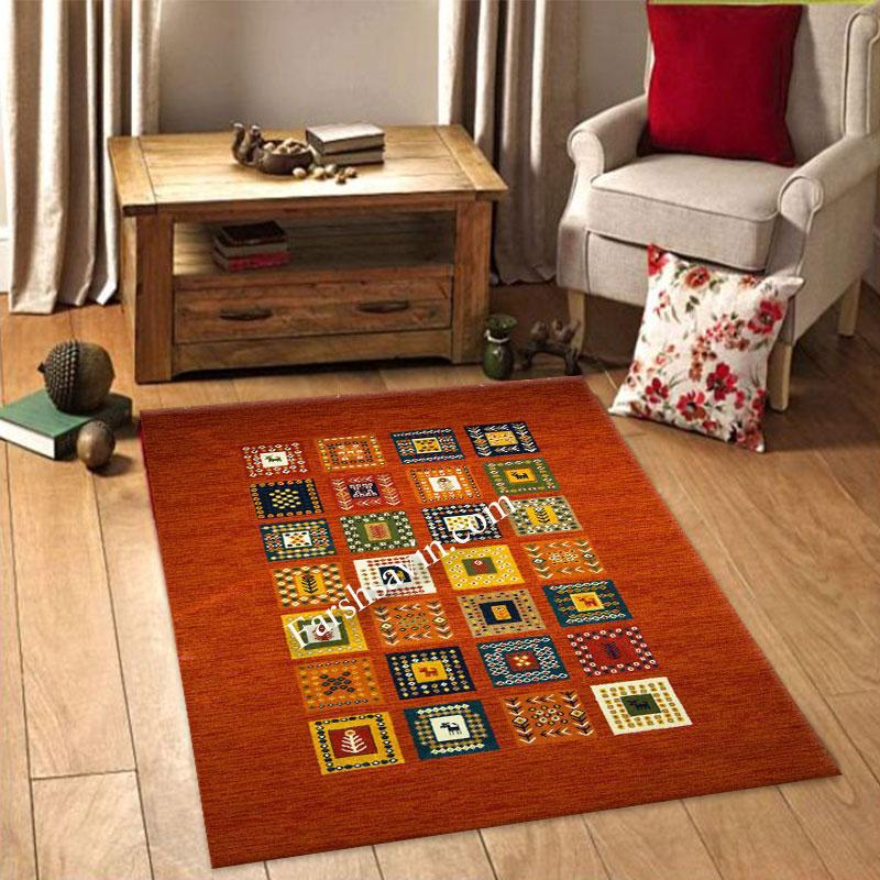 فرش ساوین مهر لاکی فرش با کیفیت بالا