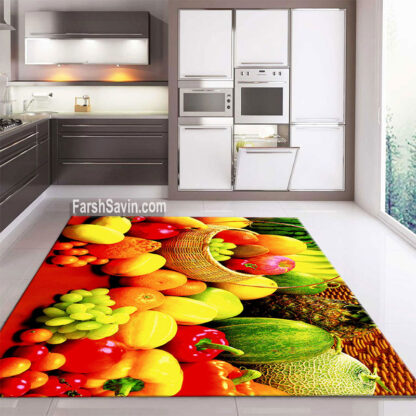 فرش ساوین کد 7553 آشپزخانه
