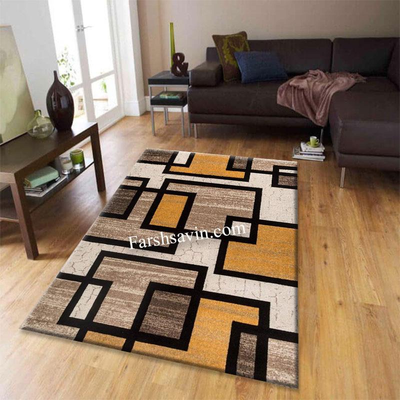فرش ساوین 4004 کرم فرش باقیمت مناسب