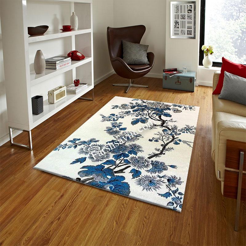 فرش ساوین 4042 کرم فرش با دوام