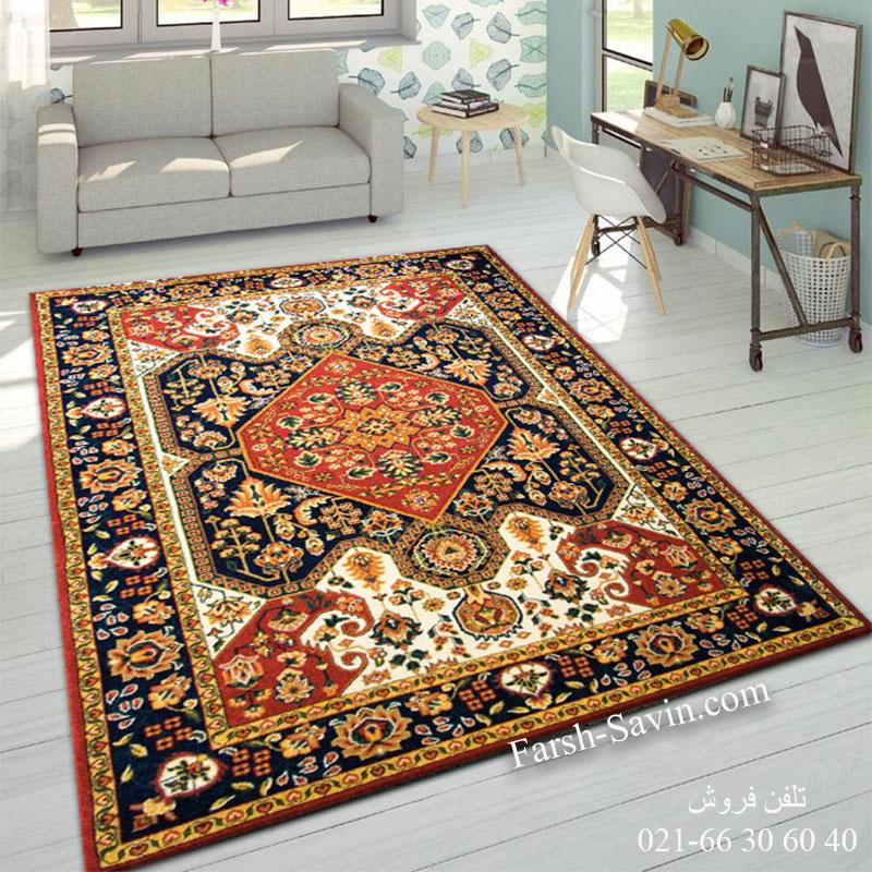 فرش ساوین ژاله لاکی فرش با کیفیت