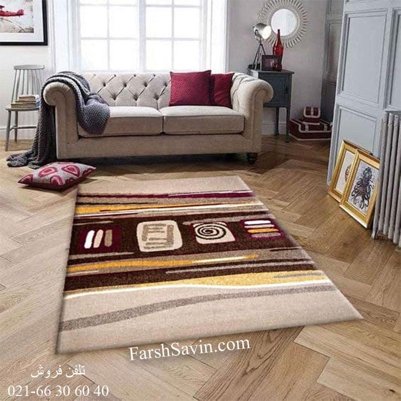 فرش ساوین هدیه شکلاتی فرش ارزان