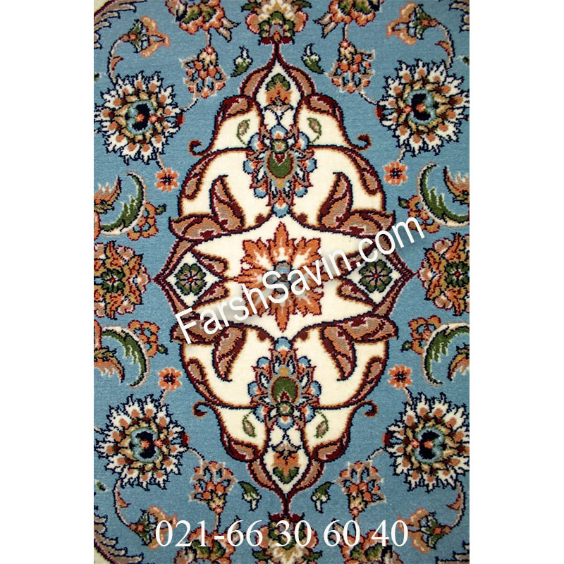 فرش ساوین 4504 کرم فرش بادوام