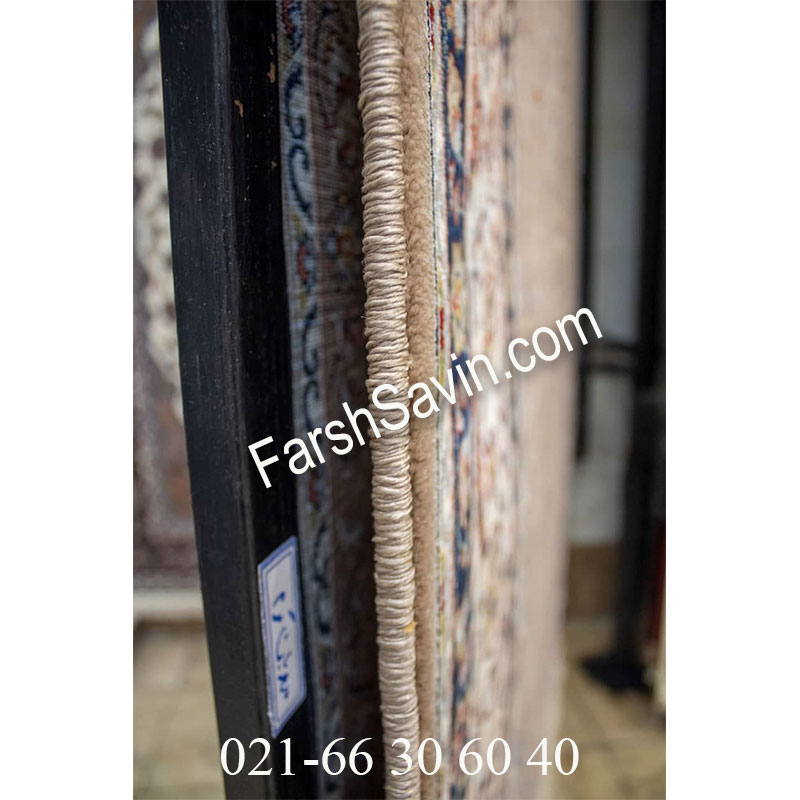 فرش ساوین 4509 شتری فرش اتاق پذیرایی