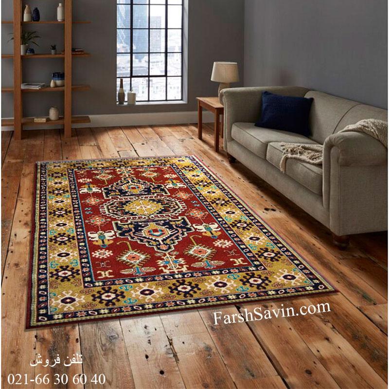 فرش ساوین طوبی لاکی فرش همه چیز تمام