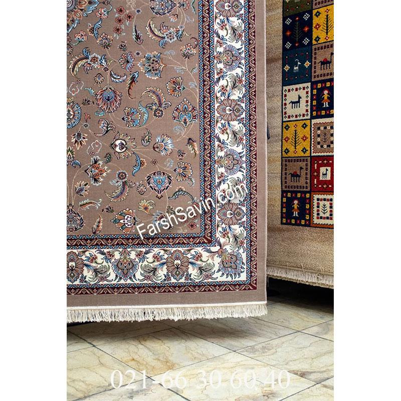 فرش ساوین 4501 شتری فرش پرفروش