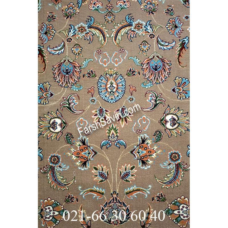 فرش ساوین 4501 شتری فرش ارزان