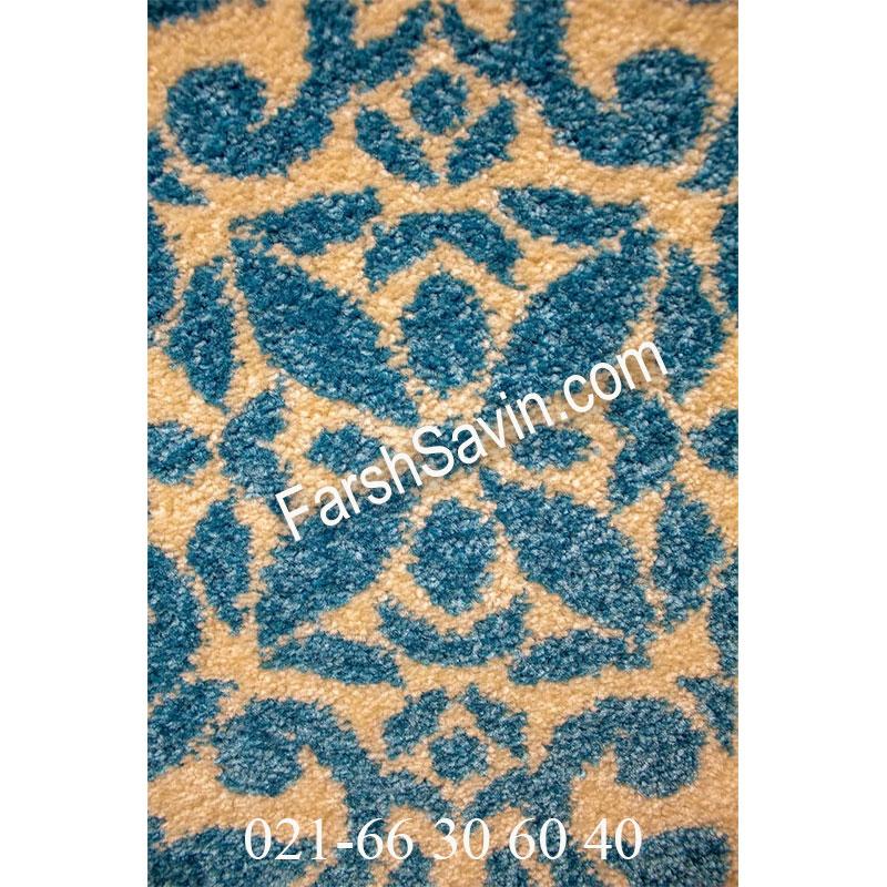 فرش ساوین 4044 طوسی فرش بادوام