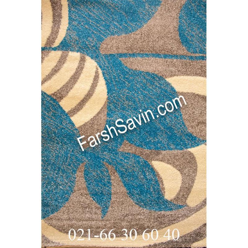 فرش ساوین فرش 4050 نقره ای فرش با کیفیت