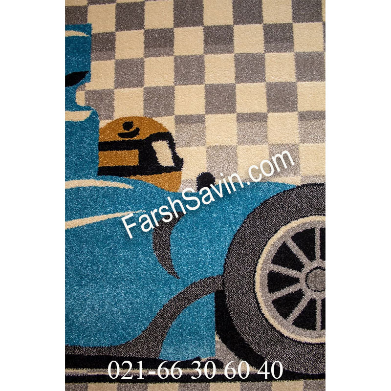 فرش ساوین 4060 کرم فرش پرفروش