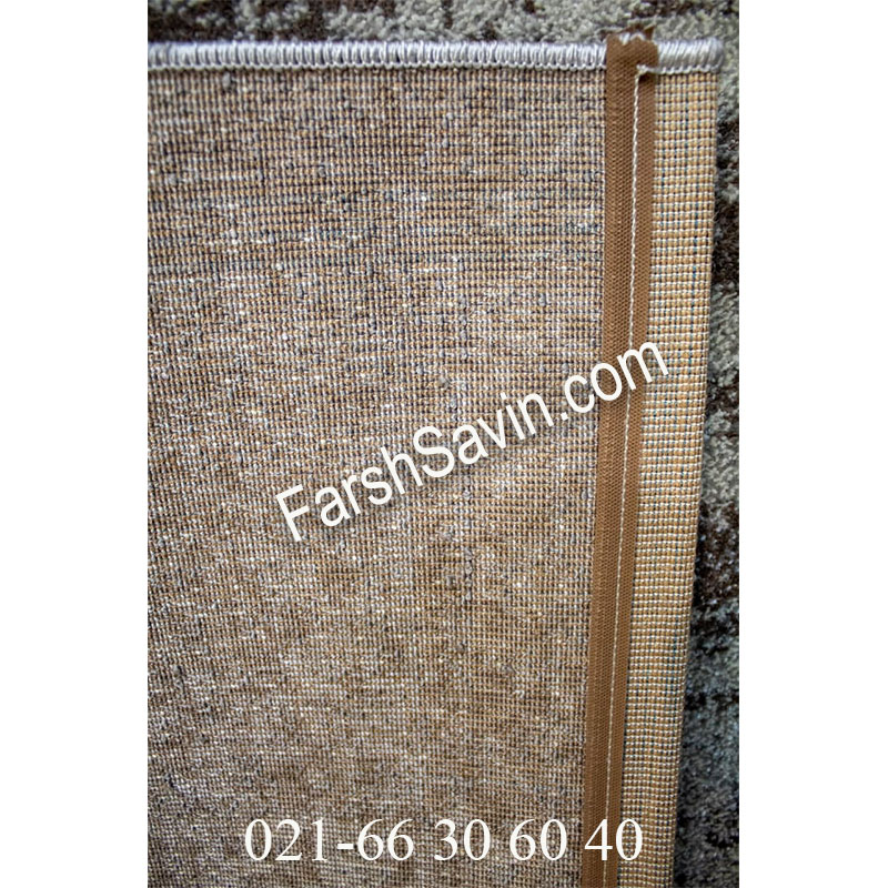 فرش ساوین 4062 نقره ای فرش ساده