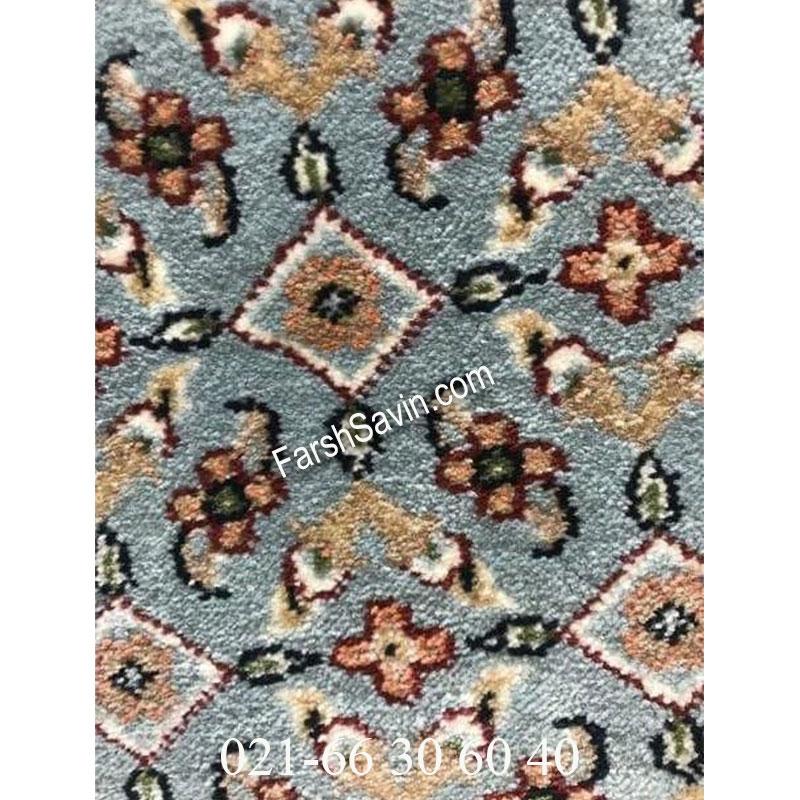 فرش ساوین 4500 آبی فرش خاص