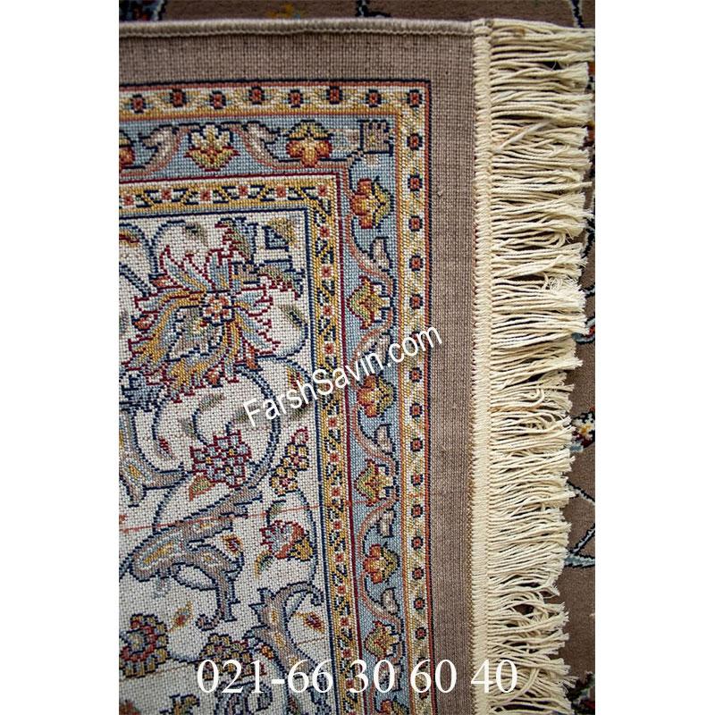 فرش ساوین 4503 شتری فرش شیک