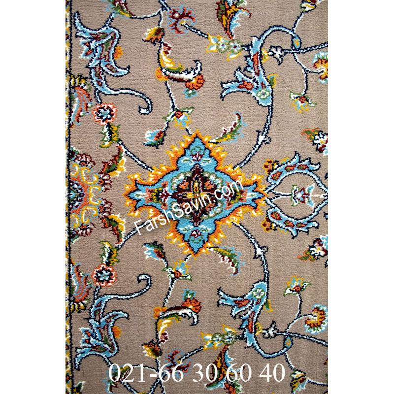 فرش ساوین 4503 شتری فرش پرفروش