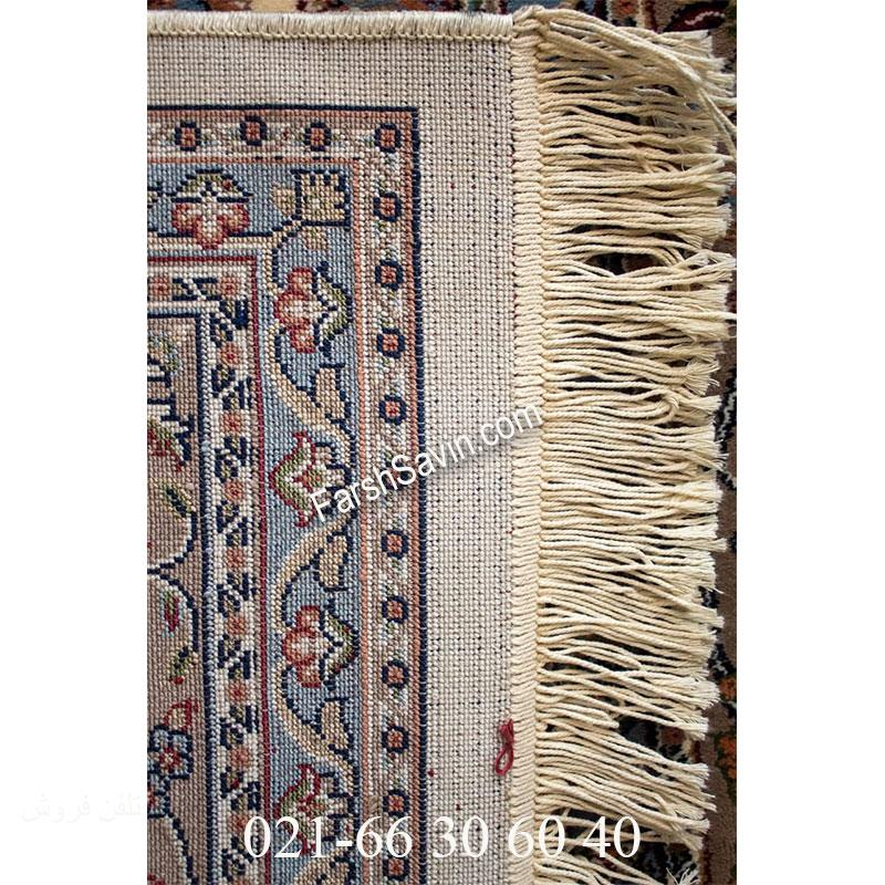 فرش ساوین 4503 کرم فرش خاص