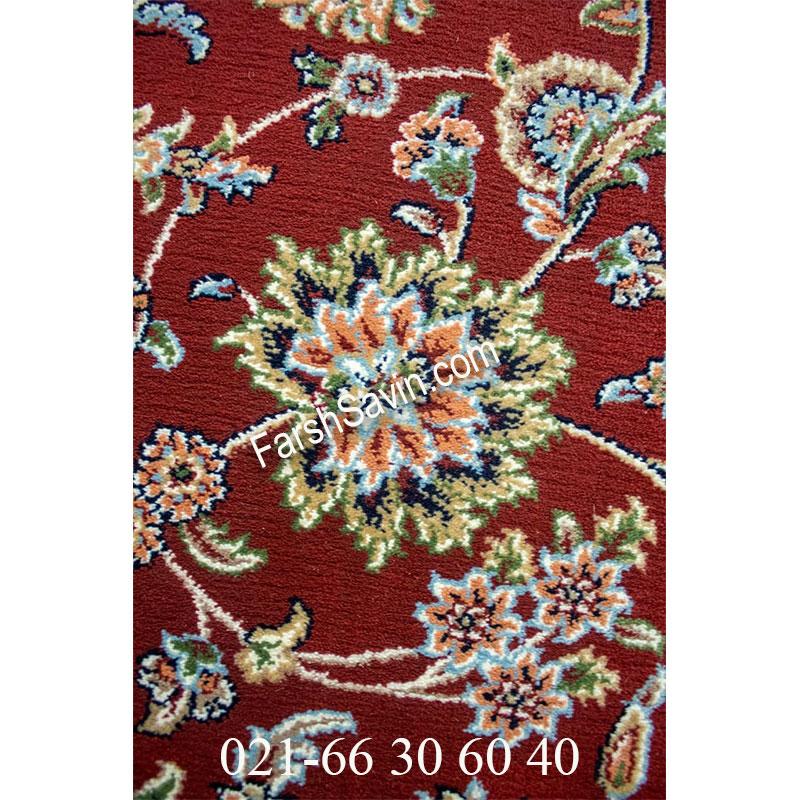 فرش ساوین 4505 لاکی فرش زیبا