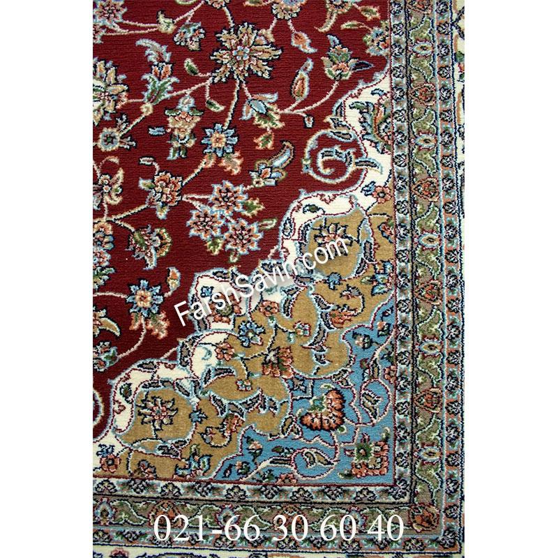 فرش ساوین 4505 لاکی فرش با دوام