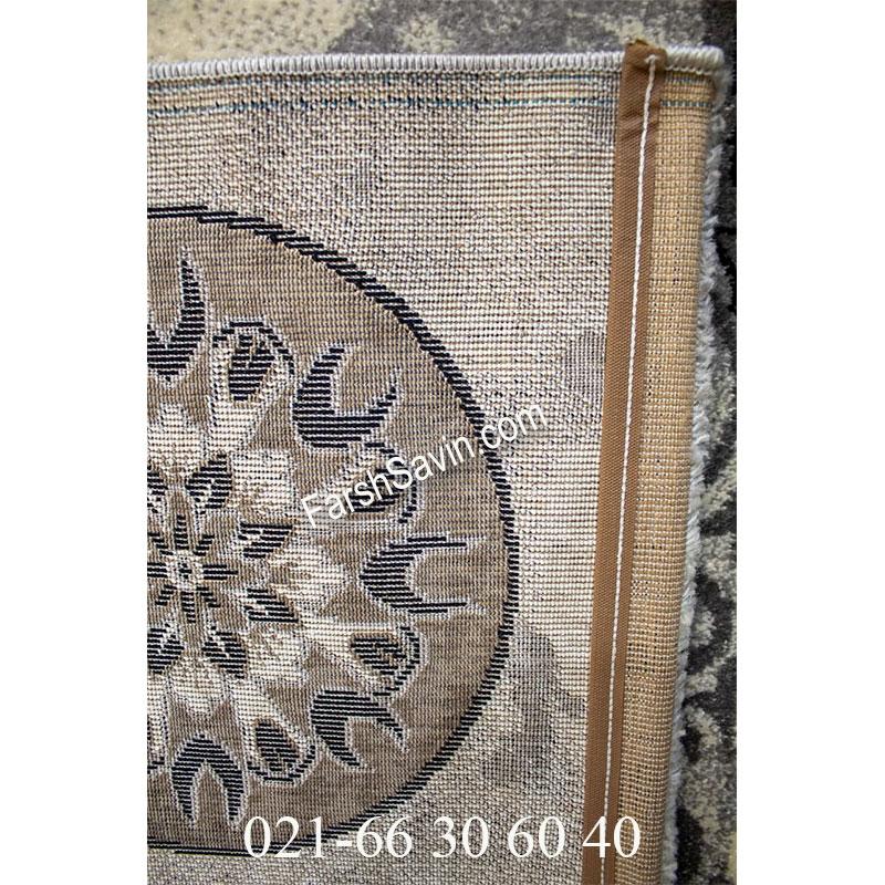 فرش ساوین 4010 نقره ای فرش پذیرایی