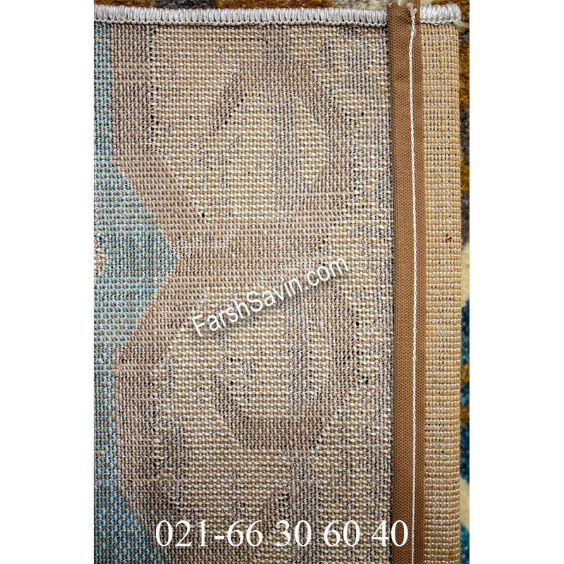 فرش ساوین 4033 کرم فرش پرفروش
