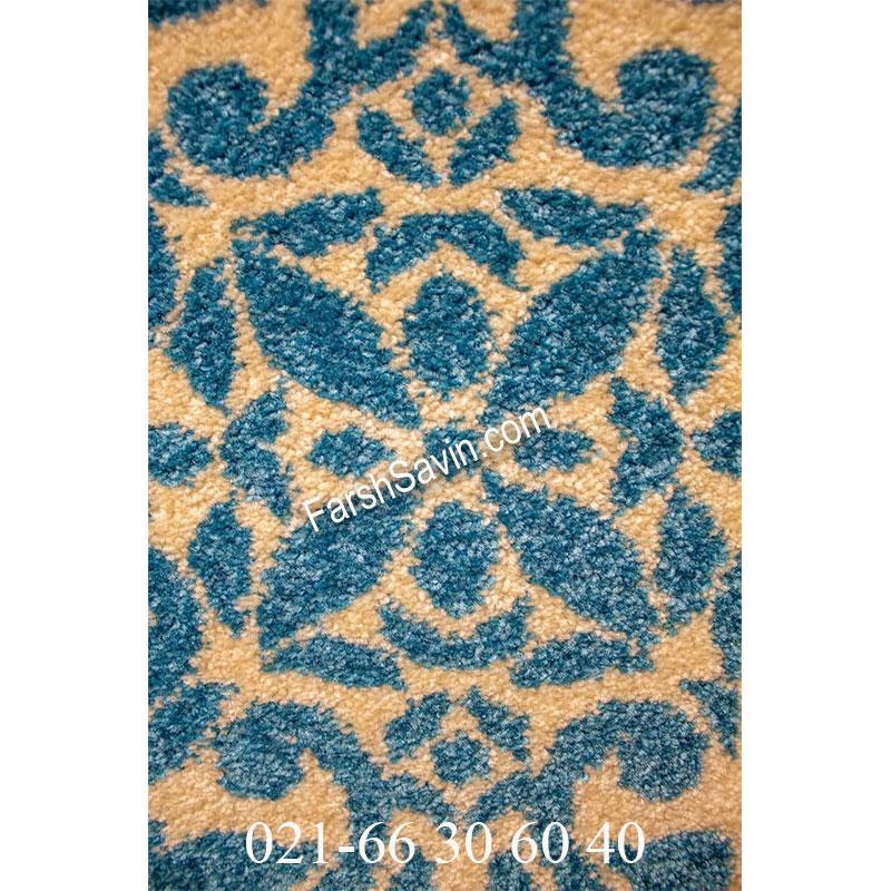 فرش ساوین 4044 طوسی فرش پرفروش
