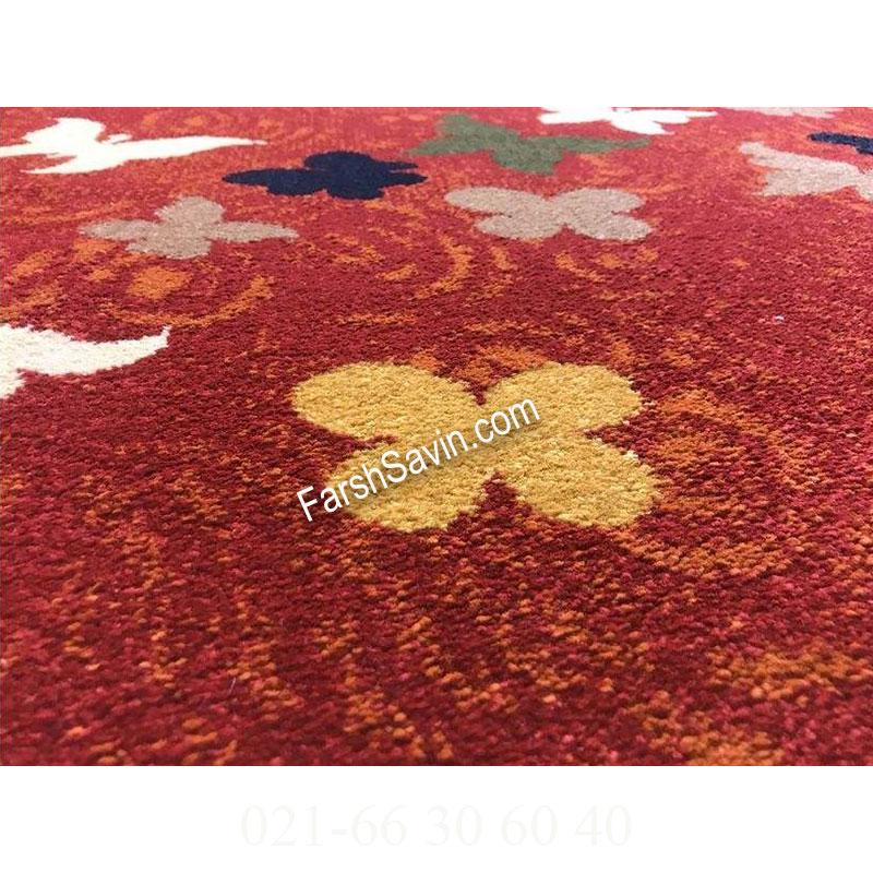 فرش ساوین 4054 لاکی فرش با کیفیت