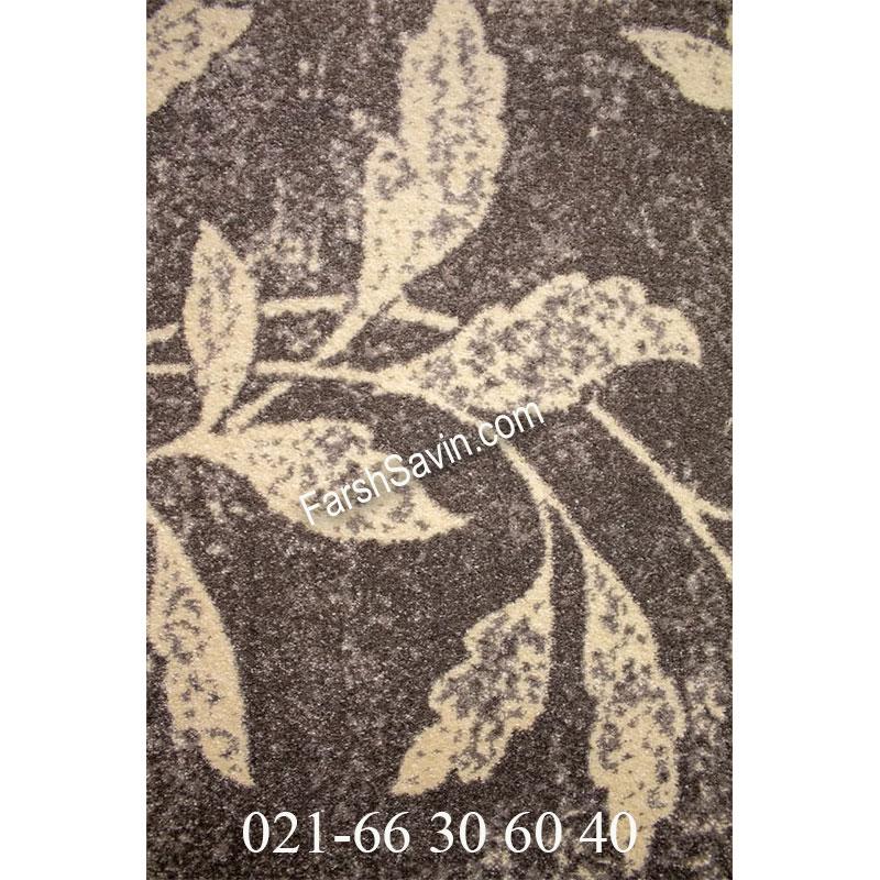 فرش ساوین 4089 طوسی فرش با کیفیت
