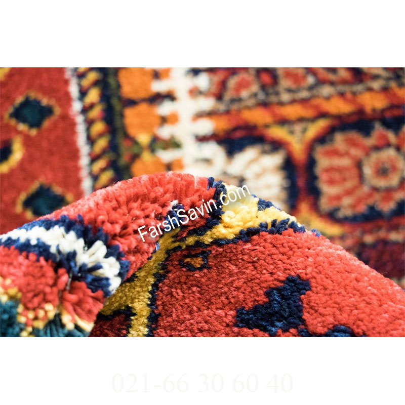 فرش ساوین چهل تیکه فرش روستایی