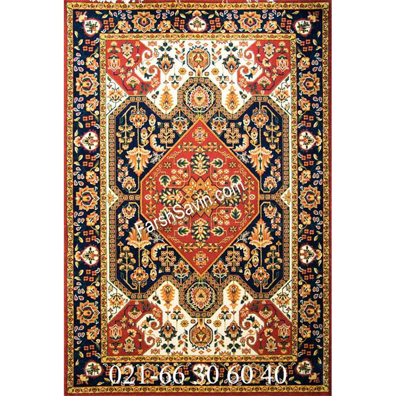 فرش ساوین ژاله لاکی فرش زیبا